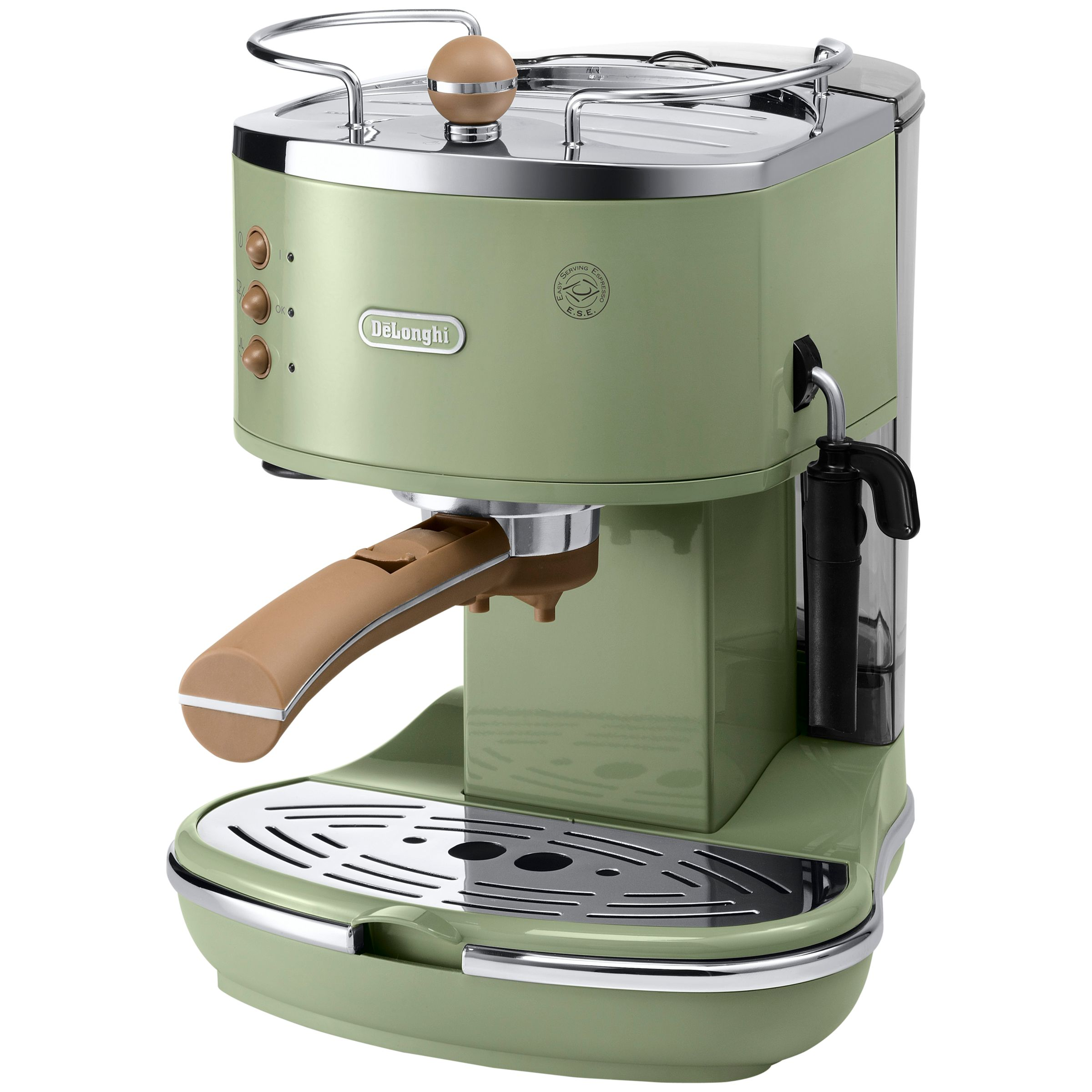 Italian Coffee Maker John Lewis : Buy DeLonghi ECOV310 Vintage Icona Espresso Coffee Machine John Lewis